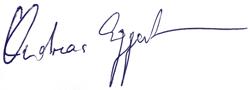 Andreas Eggert Unterschrift